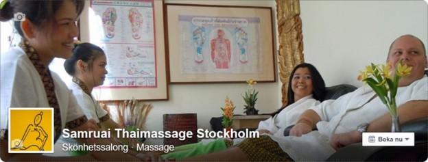 Par Massage Stockholm Samruai Thaimassage